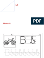discriminación d y b en castellano