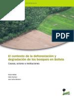 Deforestación en Bolivia