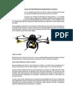 Drones en Fotogrametría