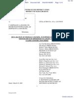 Amgen Inc. v. F. Hoffmann-LaRoche LTD et al - Document No. 325