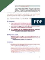 ACFA en CC Actualización 2007 - 2009