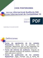 PRESENTACION HECHOS POSTERIORES