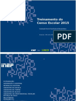 Treinamento Do Censo Escolar 2015 - Final