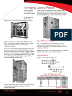 Electric Heating Control Panels