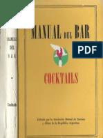 MANUAL DEL BAR, A.M.B.A. 2° EDICIÓN, 1964