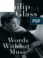 Words Without Music_ a Memoir - Philip Glass