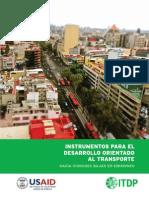 Instrumentos Para El Desarrollo Orientado Al Transporte