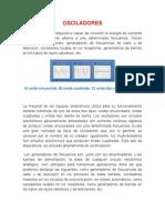 resumen OSCILADORES