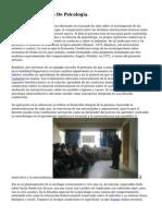 Proyecto Integrado De Psicologia.