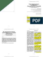 (Garcia, 2009) Clima Organizacional y Su Diagnóstico Una Aproximación Conceptual
