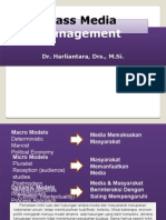 MASS MEDIA MANAGEMENT (Dr. Harliantara, Drs., M.Si,).pptx