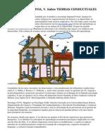 Articulo De ARINCIVIA, V. Sobre TEORIAS CONDUCTUALES