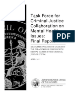 Mental Health Task Force Report 042011