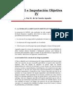 Tipicidad e Imputación Objetiva IV