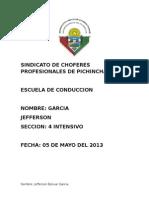 Educacion Ambiental Garcia
