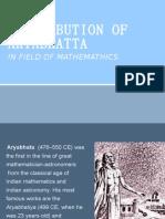 aryabhatta birth and death date