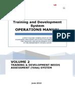 Volume 2_TDNA System Operations Manual July V2010