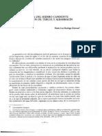 La prueba del hierro candente en los fueros de Teruel y Albarracín