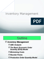 Inventory Control Techniques (1)
