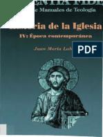 Alvarez, Jesus - Historia de la Iglesia IV - Epoca contemporanea.pdf