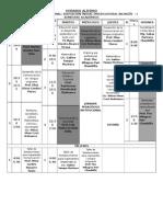 Horario Alterno Educacion Inicial 2015 Imprimir