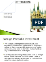 Foreign portfolio investment India