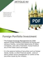 Foreign portfolio investment India