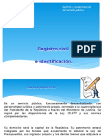 Presentacion Regstro Civil