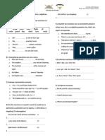 Practica-pasado Simple-Adjetivos y Pronombres Posesivos