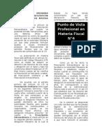 Prescripcion Extraordinaria en Materia Fiscal