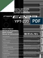 Manual Yamaha Psr-e223
