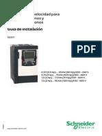 Guía de Instalación ATV71 0,37 - 90 KW