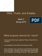 Spring+2015+-+WTE+-+Week+3+_Property%2C+Fiduciaries%2C+and+Probate_.ppt