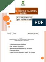 Periodo Colonial en América y Chile_clase_4
