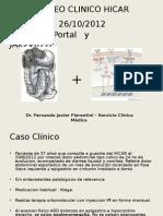 Trombosis portal