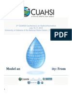 3rd CUAHSI Conference on Hydroinformatics