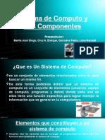Sistema de Computo y Sus Componentes