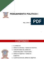 1-Pensamiento Politico I- Jbg