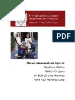 Mucopolisacaridosis Tipo VI