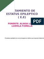 Tratamiento de Estatus Epileptico ( e