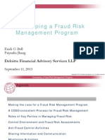 Fraud Risk Management Program