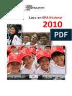 Laporan KPAN 2010