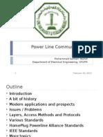 Power Line Communications (PLC)