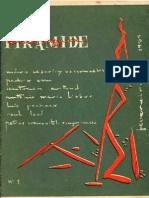Revista Pirâmide N3 1965