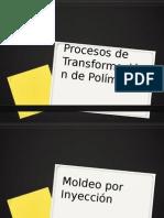 Procesos de transformación de Polímeros