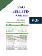 Bulletin 150715 (HTML Edition)