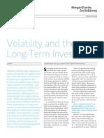 Volatility & the LT Investor[1]