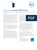 Dell PowerConnect 5500 Series - Spec Sheet