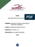Servidor Dhcp DNS