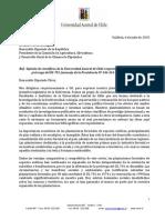 Carta Academicos U Austral DL 701